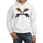 Abstract Colorful Carp 4 flower Sweatshirt