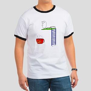 accro de cafe/coffee addict Ringer T