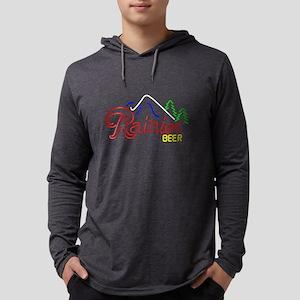 Rainier Beer neon sign 2 Long Sleeve T-Shirt