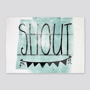 Shout 5'x7'Area Rug