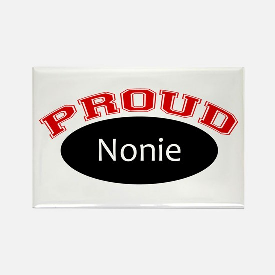 Proud Nonie Rectangle Magnet