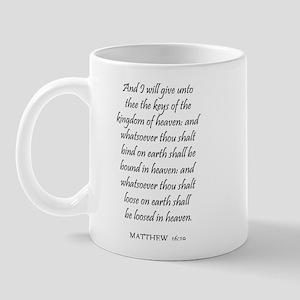 MATTHEW  16:19 Mug
