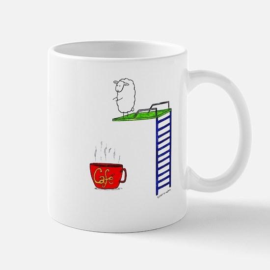 accro de cafe/coffee addict Mug