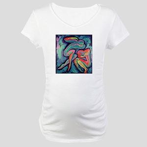 Emotional Interaction II Maternity T-Shirt