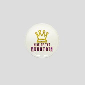 King of the Mountain Mini Button