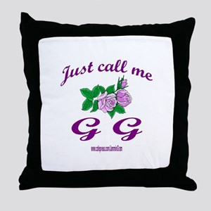 GG Throw Pillow