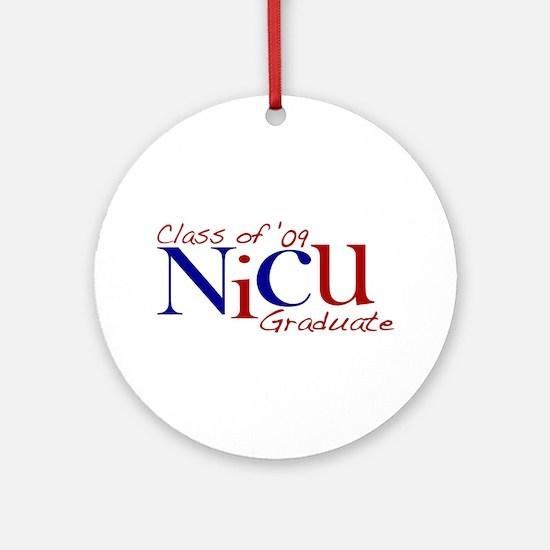 NICU Graduate 2009 Ornament (Round)
