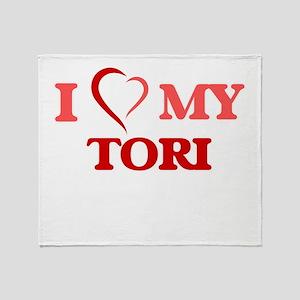 I love my Tori Throw Blanket