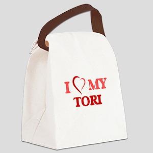 I love my Tori Canvas Lunch Bag