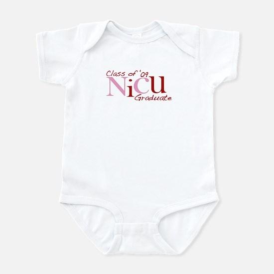 NICU Graduate 2009 (Pink) Infant Bodysuit