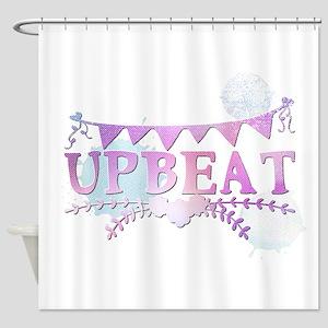 upbeat Shower Curtain