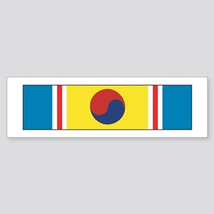 Korean War Service Bumper Sticker