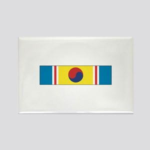 Korean War Service Rectangle Magnet (10 pack)