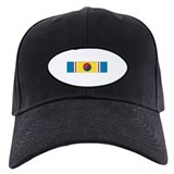 Ribbon Baseball Cap with Patch