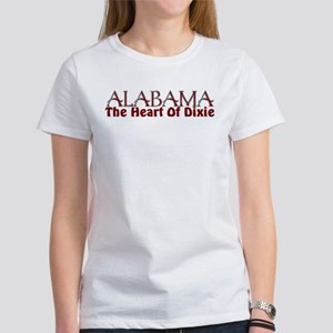 Alabama the heart of Dixie Women's T-Shirt