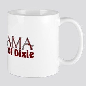 Alabama the heart of Dixie Mug