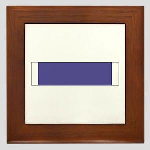 Purple Heart Framed Tile