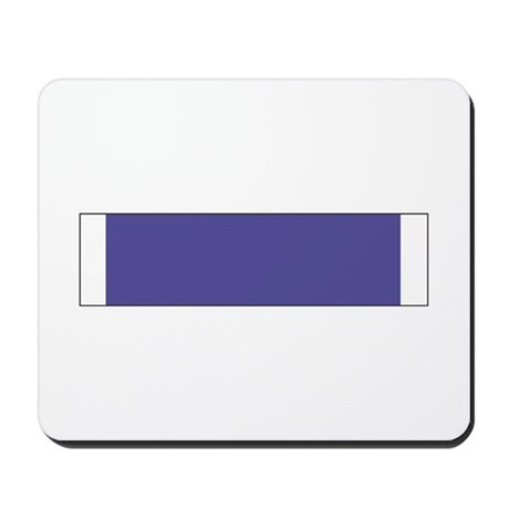 Purple Heart Mousepad