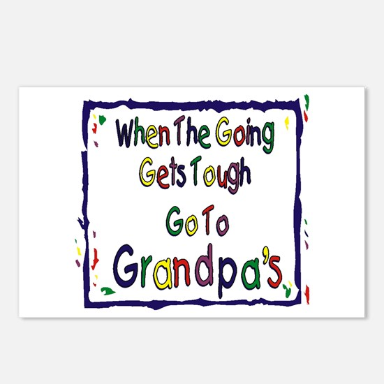 Go To Grandpa's Postcards (Package of 8)