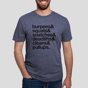Crossfit Essentials Black Text T-Shirt