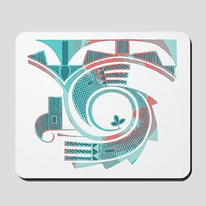 Turquoise Dawn Mousepad