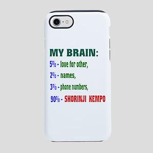 My Brain, 90% Shorinji Kempo iPhone 8/7 Tough Case