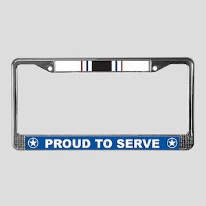 Prisoner of War License Plate Frame