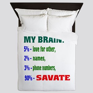 My Brain, 90% Savate Queen Duvet