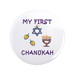 "My First Chanukah 3.5"" Button (100 pack)"