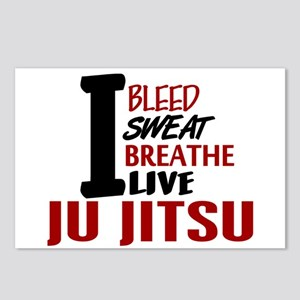 Bleed Sweat Breathe Ju Jitsu Postcards (Package of