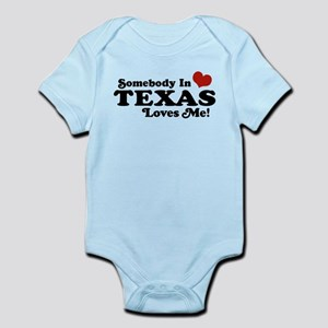 Somebody in Texas Loves Me Infant Bodysuit
