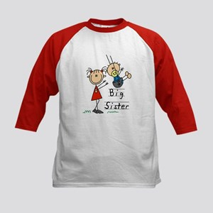 Swing Big Sister Little Brother Kids Baseball Jers