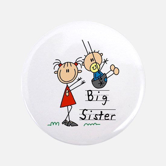 """Swing Big Sister Little Brother 3.5"""" Button"""