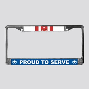 Philippine Defense License Plate Frame