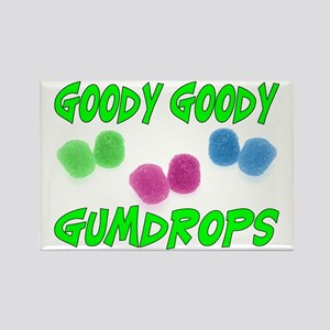 Goody Gumdrops Rectangle Magnet