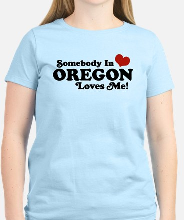 Somebody in Oregon Loves Me Women's Light T-Shirt