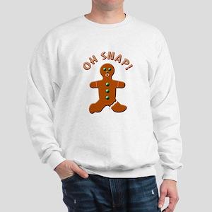 Oh Snap Detailed Sweatshirt