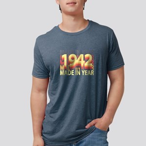 Born In Year 1942 Birthday Made In Gift T-Shirt