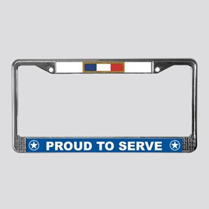 Unit Citation License Plate Frame