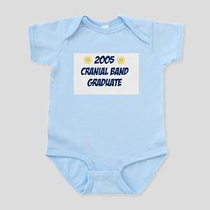 """2005 Grad - Blue/Sun"" - Infant Creeper"