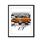 Hemi Muscle Car Framed Panel Print