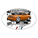 Hemi Muscle Car Sticker