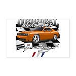 Hemi Muscle Car Rectangle Car Magnet