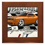Hemi Muscle Car Framed Tile