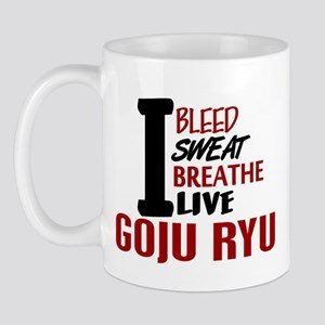 Bleed Sweat Breathe Goju Ryu Mug