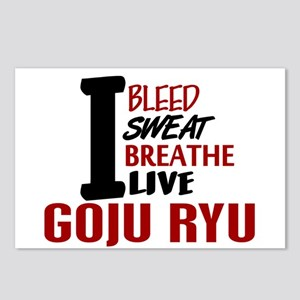Bleed Sweat Breathe Goju Ryu Postcards (Package of