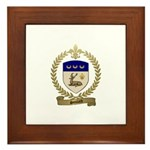 SOULARD Family Crest Framed Tile