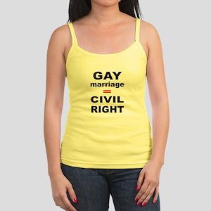 Gay Equality Jr. Spaghetti Tank