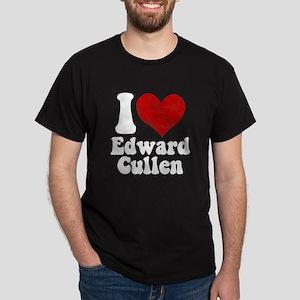 I Love Edward Cullen Dark T-Shirt