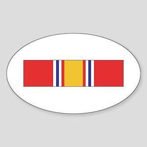 National Defense Oval Sticker